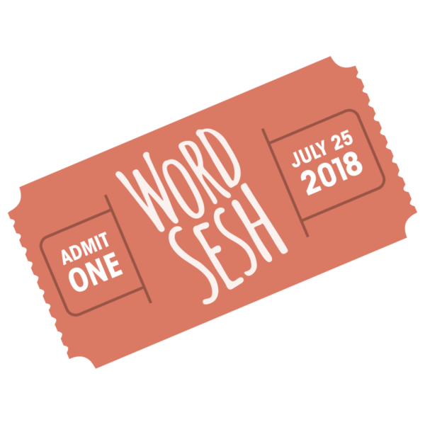 WordSesh Ticket